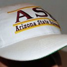 Arizona State Sun Devils NCAA Basketball Vintage 90's The Game Snapback Hat Cap