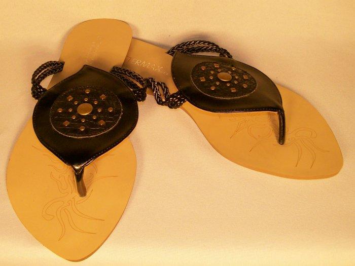 Ster Max brand black boho sandals size 9