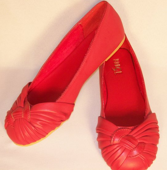 Rouge brand ballet flats red size 6