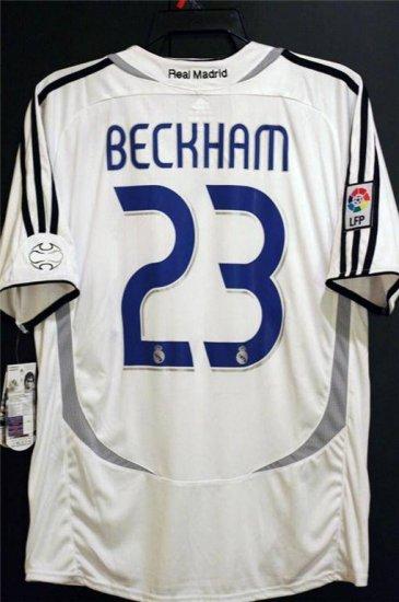 Jerseyunited Real Madrid David Beckham Jersey