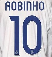Jerseyunited Real Madrid Robinho Home Jersey