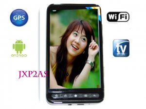 "4.3"" Dual SIM Android 2.2 WiFi TV GPS Smart Phone JXP2AS quad band unlocked"