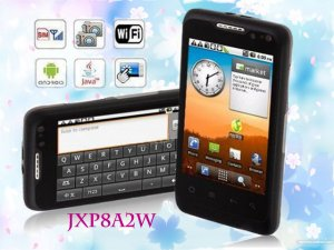 """JXP8A2W 3G Smart phone: 3.5"""" Capacitive Screen WCDMA 3G Android 2.2 GPS WIFI JAVA quad band unlocked"""