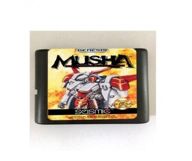 MUSHA 16-Bit Sega Genesis Mega Drive Game Reproduction (Tested & Working)
