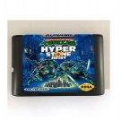 TMNT Hyper Stone Heist 16-Bit Sega Genesis Mega Drive Game Reproduction (Tested & Working)