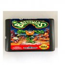 Battletoads 16-Bit Sega Genesis Mega Drive Game Reproduction (Tested & Working)