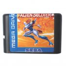 Alien Soldier 16-Bit Sega Genesis Mega Drive Game Reproduction (Tested & Working)