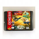 Earthworm Jim 2 16-Bit Sega Genesis Mega Drive Game Reproduction (Tested & Working)
