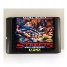 Streets of Rage 16-Bit Sega Genesis Mega Drive Game Reproduction (Tested & Working)