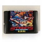 Streets of Rage 16-Bit Sega Genesis Mega Drive Game Reproduction (Tested & Working)