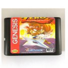 Zero The Kamikaze Squirrel 16-Bit Sega Genesis Mega Drive Game Reproduction (Tested & Working)