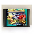 Street Fighter II Special Champion Edition 16-Bit Sega Genesis Mega Drive Game Reproduction (Works)