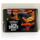 Two Crude Dudes 16-Bit Sega Genesis Mega Drive Game Reproduction (Tested & Working)