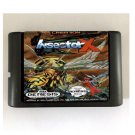 Insector X 16-Bit Sega Genesis Game Reproduction NTSC Only (Tested & Working)