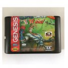 Earthworm Jim 16-Bit Sega Genesis Mega Drive Game Reproduction (Tested & Working)