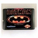 Batman 16-Bit Sega Genesis Mega Drive Game Reproduction (Tested & Working)