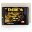 The Incredible Hulk 16-Bit Sega Genesis Mega Drive Game Reproduction (Tested & Working)
