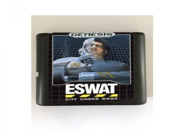 ESWAT City under Siege 16-Bit Sega Genesis Mega Drive Game Reproduction (Tested & Working)