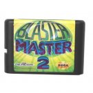 Blaster Master 2 16-Bit Sega Genesis Mega Drive Game Reproduction (Tested & Working)