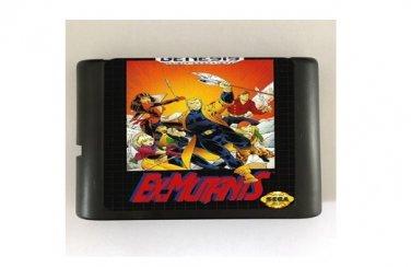 Ex-Mutants 16-Bit Sega Genesis Mega Drive Game Reproduction (Tested & Working)
