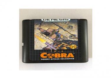 Twin Cobra 16-Bit Sega Genesis Mega Drive Game Reproduction (Tested & Working)