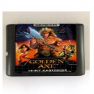 Golden Axe 16-Bit Sega Genesis Mega Drive Game Reproduction (Tested & Working)