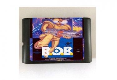 B.O.B. 16-Bit Sega Genesis Mega Drive Game Reproduction (Tested & Working)