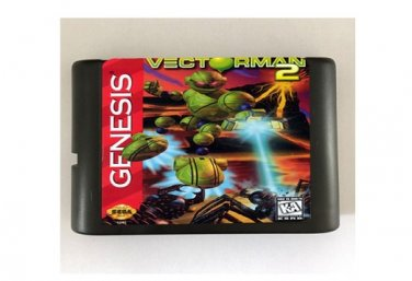 Vectorman 2 16-Bit Sega Genesis Mega Drive Game Reproduction (Tested & Working)