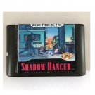 Shadow Dancer 16-Bit Sega Genesis Mega Drive Game Reproduction (Tested & Working)