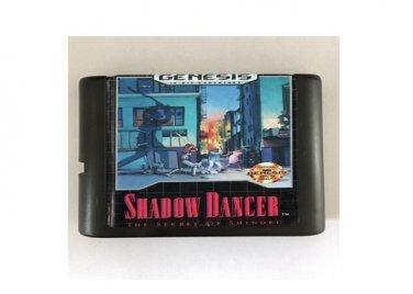 Shadow Dancer 16-Bit Sega Genesis Mega Drive Game Reproduction (Tested & Working)
