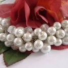 Cluster Pearl Beaded Bracelet