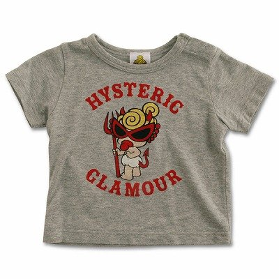 Hysteric Glamour Grey Baby T-shirt