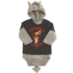 Hysteric Glamour Black Jacket + Grey Baby T-shirt