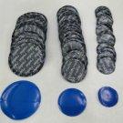 50 pc Radial Tire Repair Round Patch Assortment SMALL MEDIUM LARGE V-PRO BRAND
