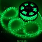 "150' FEET LED Rope Lights Green Color 1/2"" /13MM 1656 LEDs With Accessories"