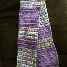 Purple toddler/girl scarf