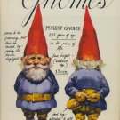 GNOMES by Rien Poortvliet and Wil Huygen /SIGNED 1st Ed