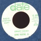 LAYNG MARTINE, JR. /LOVE COMES AND GOES/ CRAZY DAISY 45