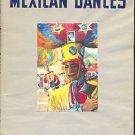 MEXICAN DANCES by Ramon Valdiosera /TWELVE COLOR PLATES