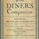 THE DINER'S COMPANION by Maurice Dreicer /SIGNED /1st