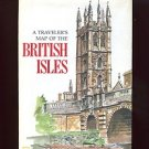 MAP / POSTER: A TRAVELER'S MAP OF THE BRITISH ISLES /National Geographic /HUGE
