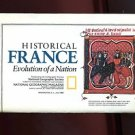 MAP: HISTORICAL FRANCE--EVOLUTION OF A NATION by National Geographic /HUGE /WALL