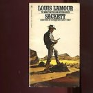 SACKETT by Louis L'Amour /WESTERN /SACKETT #8 IN FICTIONAL ORDER /TERRIFIC!!!!!!