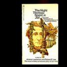 THE NIGHT THOREAU SPENT IN JAIL by Jerome Lawrence and Robert E. Lee /HIT PLAY!!