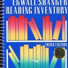 EKWALL / SHANKER READING INVENTORY: THIRD EDITION /SPECIAL REVISED PRINTING