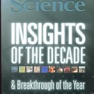 SCIENCE MAGAZINE DECEMBER 2010 /INSIGHTS OF THE DECADE /BREAKTHROUGH OF THE YEAR