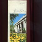 LONGWOOD GARDENS /ENGLISH GUIDE /PENNSYLVANIA /DETAILED MAP AND PHOTOS /BROCHURE