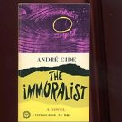 THE IMMORALIST by Andre Gide, Translated by Dorothy Bussy /NOBEL PRIZE /1st Ed.