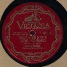 MARIA JERITZA /VISSI D'ARTE /VOI LO SAPETE /SOPRANO /RCA 1346 /78 rpm RECORD