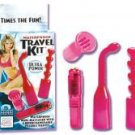 Waterproof Travel Kit Pink